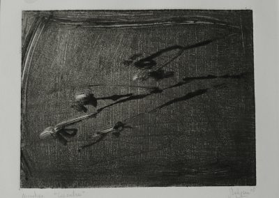 DELEPINE 2003- Les Ombres- Monotype